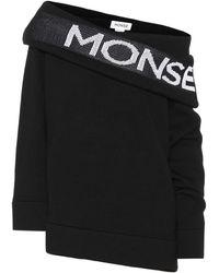 Monse Wool Logo Sweatshirt - Black