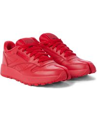 Maison Margiela X Reebok zapatillas Classic Tabi - Rojo