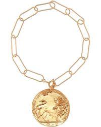 Alighieri Bracciale Il Leone bagnato in oro 24kt - Metallizzato