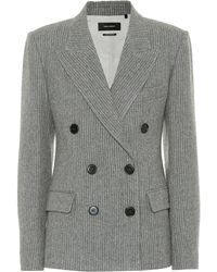 Isabel Marant - Eleigh Wool And Linen Blazer - Lyst