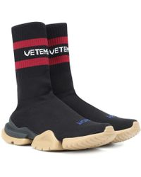 Vetements - X Reebok Sneakers Classic in maglia - Lyst