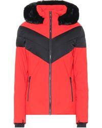 Fusalp Chaqueta de esquí Anne - Rojo