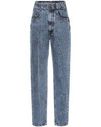 Maison Margiela Jeans a vita alta - Blu