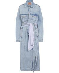 Y. Project Abrigo de jeans - Azul