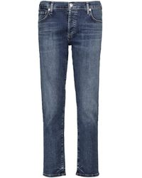 Citizens of Humanity Emerson Low-rise Boyfriend Jeans - Blue