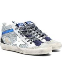 Golden Goose Deluxe Brand - High-Top-Sneakers Mid Star - Lyst