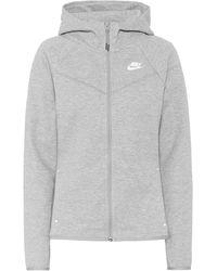 Nike Kapuzenjacke Windrunner - Grau