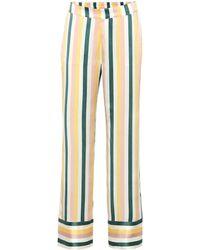 Asceno Silk Pyjama Bottoms - Multicolour