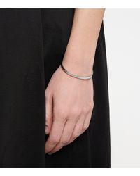 MM6 by Maison Martin Margiela Logo-engraved Cuff Bracelet - Metallic