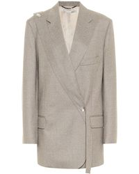 Stella McCartney Rylee Wool Blazer - Grey