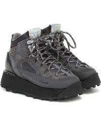 Acne Studios Trekking Platform Sneakers - Grey