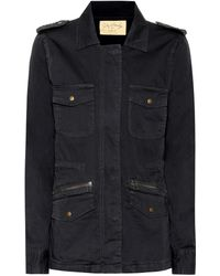 Velvet - Ruby Cotton Military Jacket - Lyst