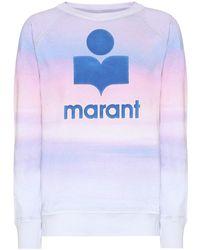 Étoile Isabel Marant Maglione con stampa - Blu