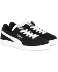 PUMA Sneakers Te-Ku Prime aus Veloursleder - Schwarz