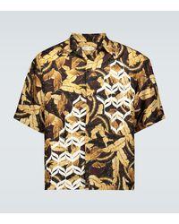 Cmmn Swdn Kim Geometric Printed Shirt - Metallic