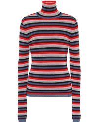M.i.h Jeans - Striped Wool-blend Sweater - Lyst