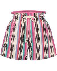 Étoile Isabel Marant Shorts Inima aus Baumwolle - Rot