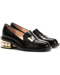 Nicholas Kirkwood | Casati Embellished Leather Loafers | Lyst