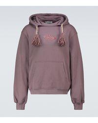 Adish Matah Mejwez Hooded Sweatshirt - Purple