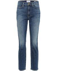 FRAME Jeans Le Slyvie Slender - Blu