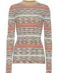 Missoni Gestreifter Pullover aus Wolle - Mehrfarbig