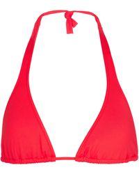 Melissa Odabash Exclusivo en Mytheresa – top de bikini Athens - Rojo