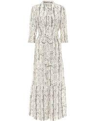 Heidi Klein Exclusive To Mytheresa – Zambia Printed Silk Midi Dress - Multicolor