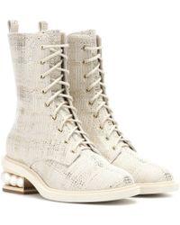 Nicholas Kirkwood - Casati Pearl Ankle Boots - Lyst