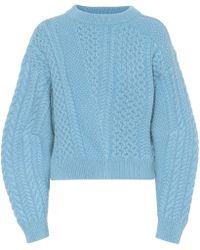Stella McCartney Wool And Alpaca Jumper - Blue