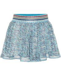 Missoni Knit Shorts - Blue