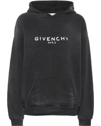 Givenchy - Printed Cotton Hoodie - Lyst