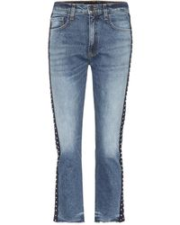 Veronica Beard - Ines Cropped Jeans - Lyst