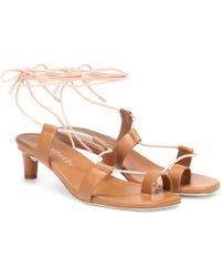 Zimmermann - Leather Sandals - Lyst
