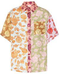 Zimmermann Lovestruck Floral Silk Shirt - Multicolor