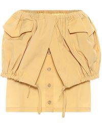 Jacquemus La Jupe Cueillette Miniskirt - Yellow