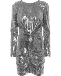 MSGM - Longsleeved Sequin Dress - Lyst