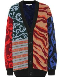 Stella McCartney Cardigan con design patchwork - Multicolore
