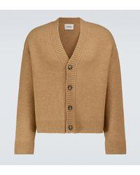 Nanushka Bah Wool-blend Cardigan - Natural