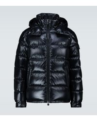 Moncler Maya Padded Jacket Black