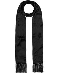 Saint Laurent Silk-satin Scarf - Black