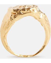 Alighieri Vergoldeter Ring Gemini aus Sterlingsilber - Mettallic