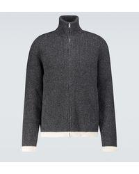 Maison Margiela Pullover aus einem Alpakagemisch - Grau