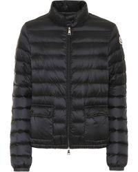 Moncler Lans Padded Shell-down Jacket - Black