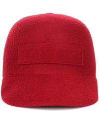 Gabriela Hearst Cashmere Cap - Red