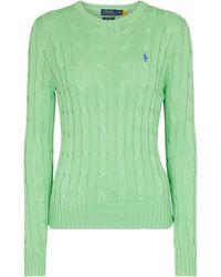 Polo Ralph Lauren Pullover aus Baumwolle - Grün