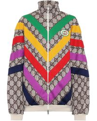 Gucci GG Supreme Cotton-blend Jacket - Multicolour