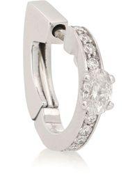 Repossi - Argolla única Harvest de oro blanco de 18 ct y diamantes - Lyst