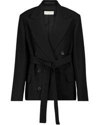Dries Van Noten Belted Blazer - Black