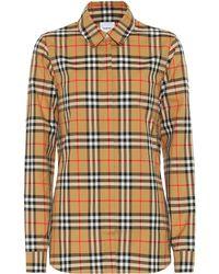 Burberry Vintage Check Cotton Shirt - Multicolour