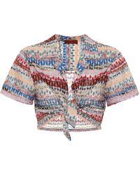 Missoni Top in maglia - Multicolore